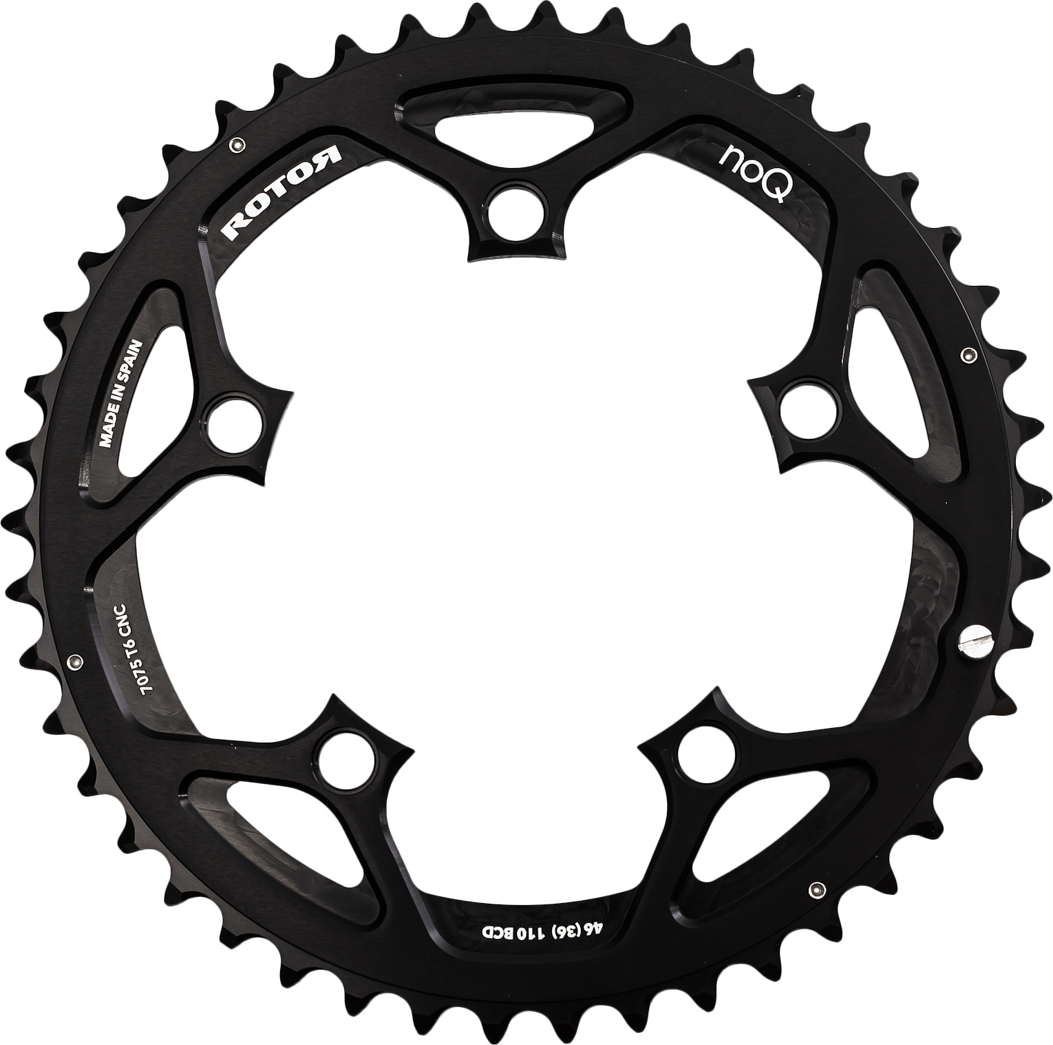 Rotor Chainring Aero No-Q 52 or 50 Teeth 110 mm outer