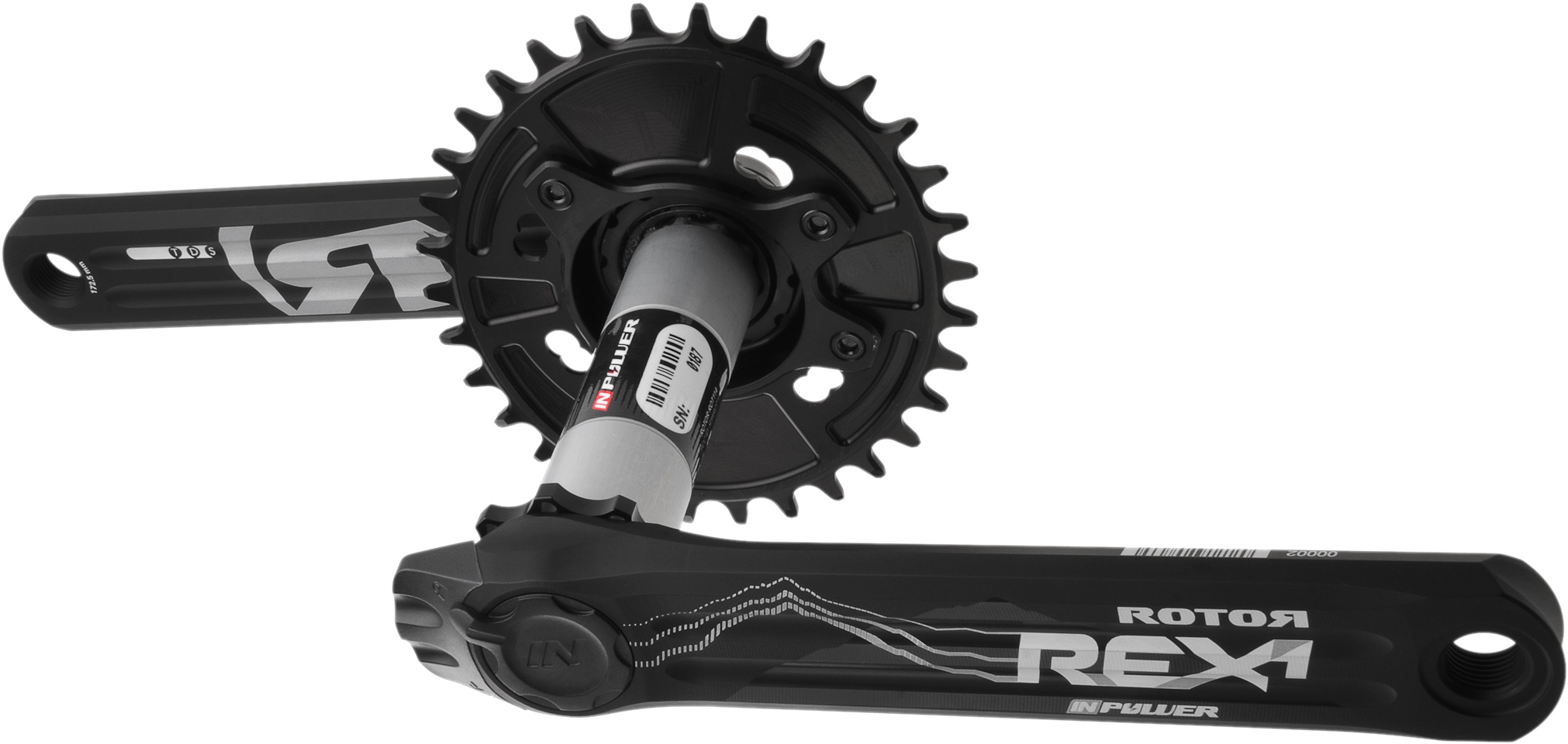 R ROTOR BIKE COMPONENTS Rex 1.1 BCD76x4 Cannondale FSI-AI Spider