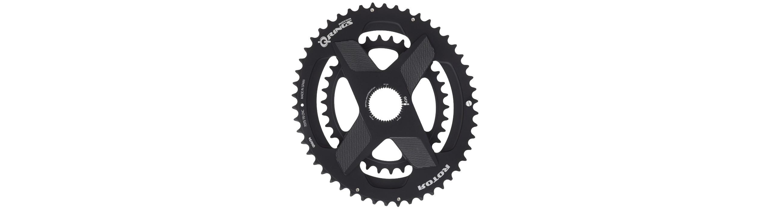 Q RINGS DM Oval Chainrings 2X