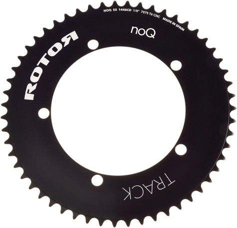 ROUND CHAINRING 46T BCD144X5 1/8'' BLACK