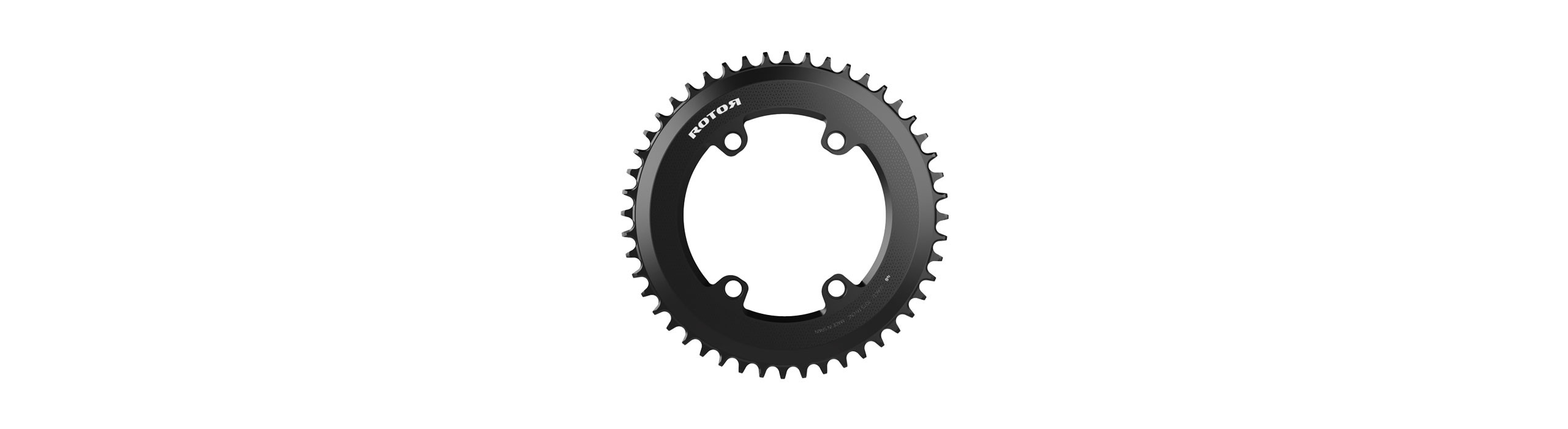 ROUND SPIDER MOUNT CHAINRINGS BCD110x4 AERO 1x