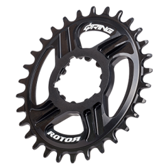 DM oval chainring compatible with SRAM GXP®