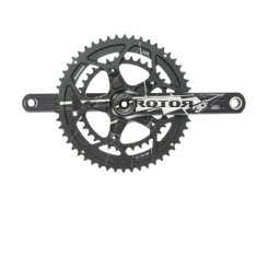 3D FORGED RD CRANKSET 172.5mm 30MM AXLED BCD110x5 W/ROUND RINGS 52/36 - BLACK