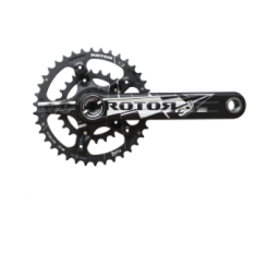 3D FORGED MTB CRANKSET 175mm 30MM BOOST AXLED XC2 BCD110/74x5 W/ROUND RINGS 38/24