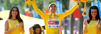 Carlos Sastre wins the Tour de France with Q rings