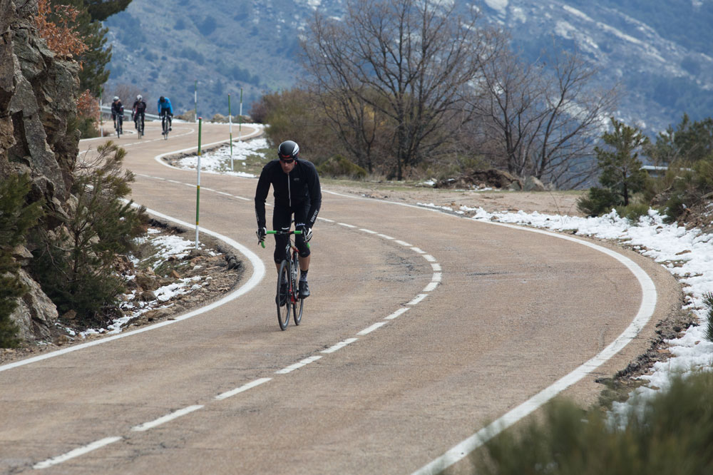 Winter Road Cycling