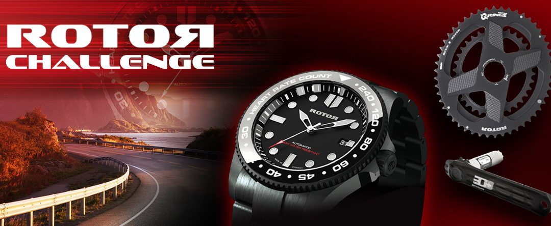 Master the ROTOR Challenge and you could win the exclusive ROTOR Tiburòn watch