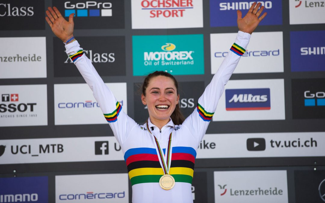 Entrevista a Kate Courtney, nueva Campeona del Mundo MTB