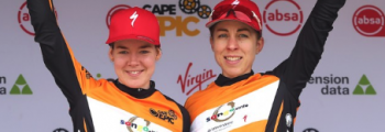 Annika Langvad and Anna van der Bregen win Cape Epic race with Q RINGS and 2INpower