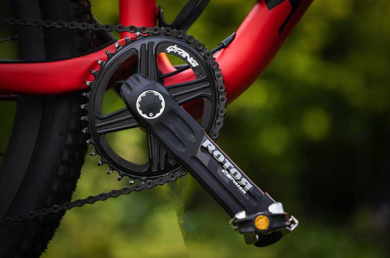 ROTOR Cranks with 2INpower Powermeter